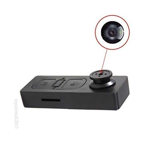 Piqancy HD Button Pinhole Spy Camera