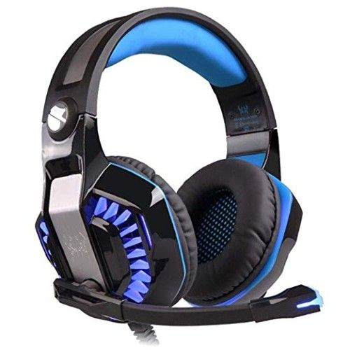 Kotion Ear Headsets with Mic & LED