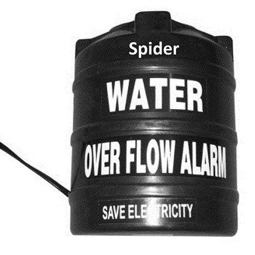 Plastic Water Over Flow Tank Alarm