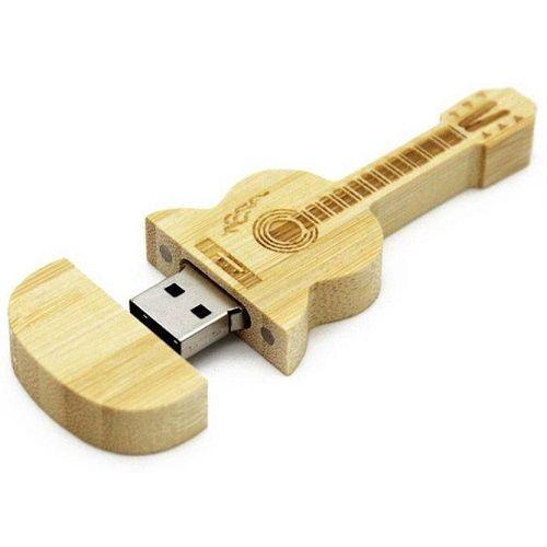 Quace 16 GB Guitar Shaped Pen Drive
