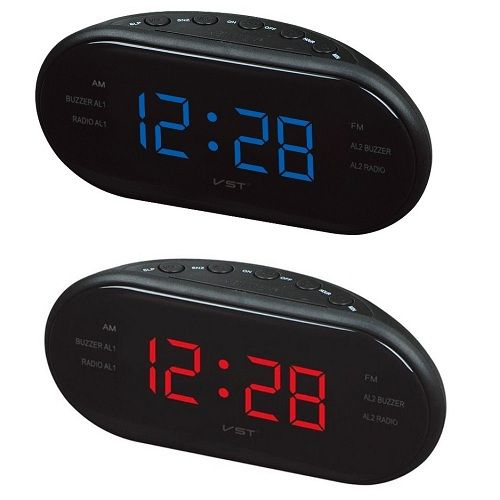 Alician LED Alarm Clock Radio