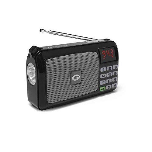Amkette Pocket FM Portable Multimedia Speaker