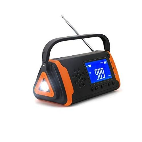 Emergency Crank Weather Radio