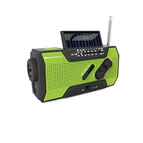RunningSnail Solar Weather Radio
