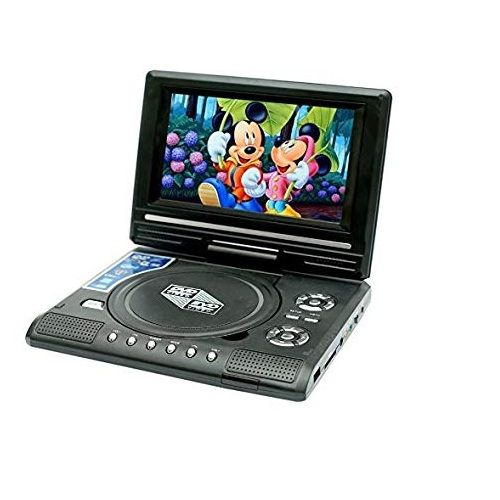 3D Portable EVD/DVD Player with Gaming