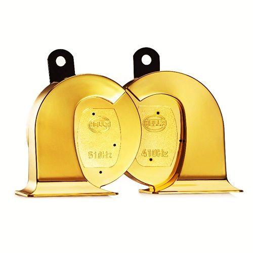 Golden Trumpet Horn Set