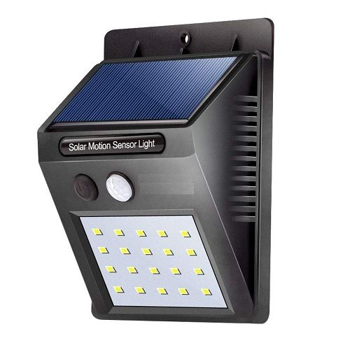 Solar Wireless Security Motion Sensor