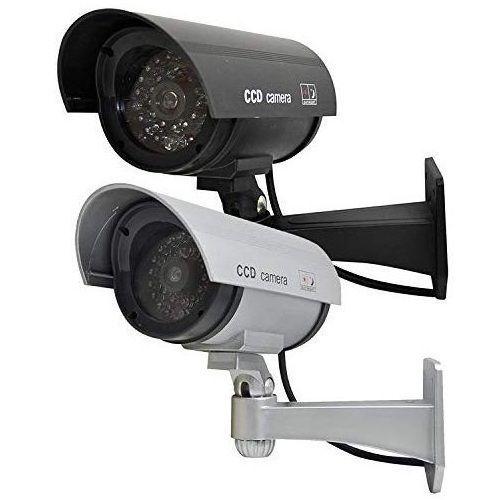 2 Pcs Drum Shaped Cctv Security Camera
