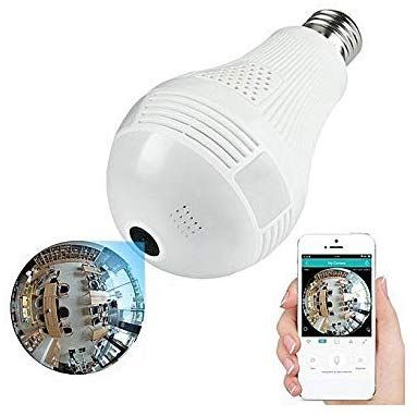 Bulb Shape WiFi IP CCTV Security Camera